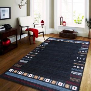 Luxusný modrý koberec do obývačky
