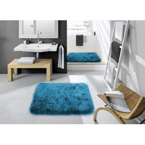 Predložka do kúpeľne v tmavo modrej farbe
