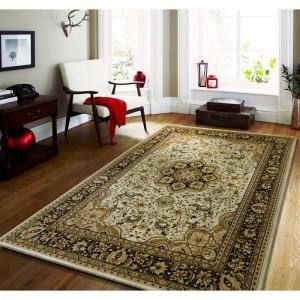 Krémový vintage koberec do spálne