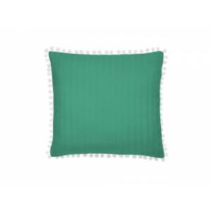 Originálna obliečka na vankúšik v zelenej farbe 45x45 cm