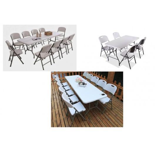 Cateringová stolička do záhrady