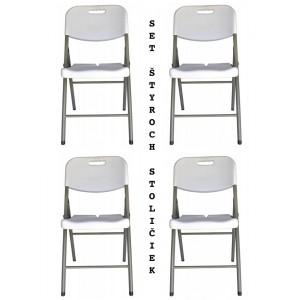 Zvýhodnený set štyroch cateringových stoličiek