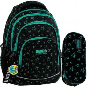 Dvojčasťový set s hviezdičkami pre dievčatá do školy