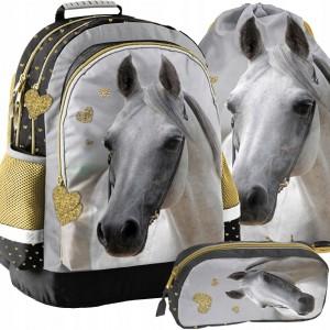 Školský set pre dievčatá s motívom koníka
