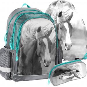 Dievčenský školský set s obrázkom koníka
