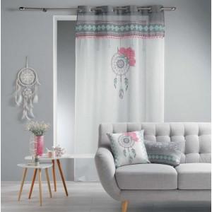 Moderná záclona s obrázkom lapača snov 140 x 240 cm