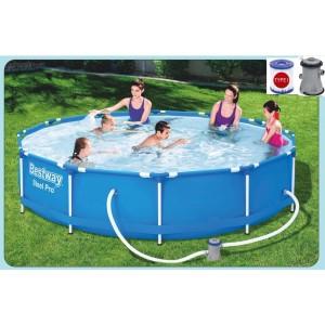 Nadzemný bazén s konštrukcou 366 cm x 76 cm