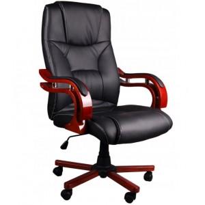 Pohodlné a kvalitné kancelárske kreslo v čiernej farbe