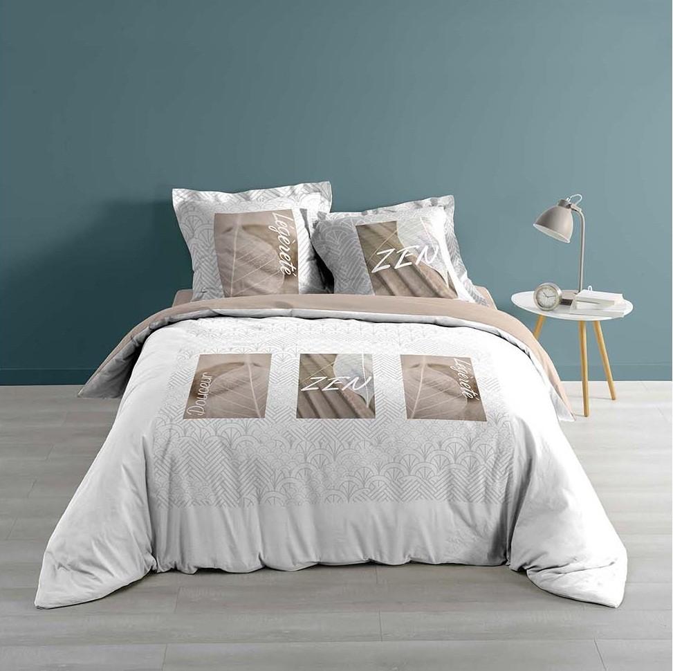 DomTextilu Krásne bavlnené posteľné obliečky ZEN 220 x 200 cm 20826