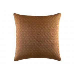 Svetlo hnedá obliečka na vankúš 45 x 45 cm
