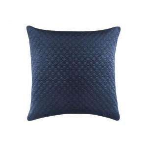Tmavo modrá obliečka 45 x 45 cm
