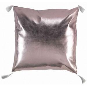 Zlato rúžový vankúš 40 x 40 cm
