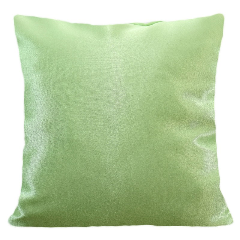 DomTextilu Jednofarebná obliečka zelenej farby 40 x 40 cm 22248-139290