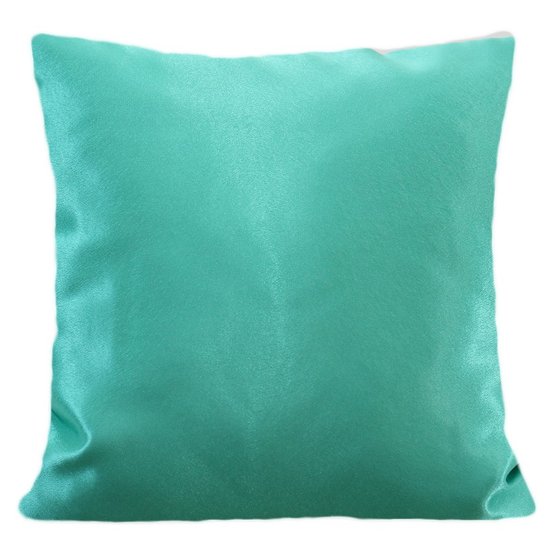 DomTextilu Jednofarebná obliečka tyrkysovej farby 40 x 40 cm 22250-139292