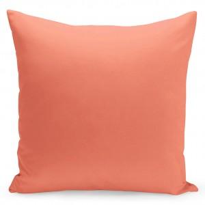 Jednofarebná obliečka v pomarančovej  farbe
