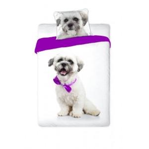 Posteľné obliečky s roztomilým psíkom