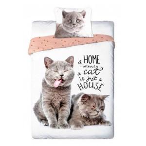 Posteľné obliečky s roztomilými mačiatkami