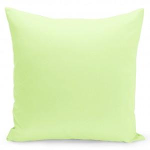 Jednofarebná obliečka v svetlo zelenej farbe