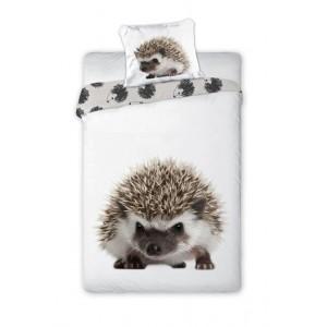 Posteľné obliečky s potlačou ježka