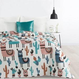 Štýlový prešívaný prehoz na posteľ do detskej izby