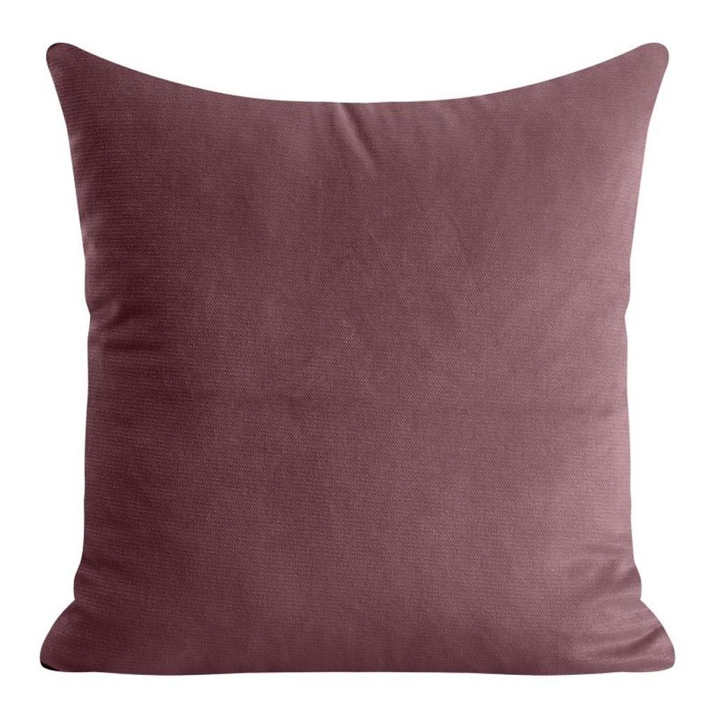 DomTextilu Dekoračna obliečka v bordovej farbe 40 x 40 cm 23533-142642