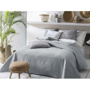 Prehoz na posteľ s sivej farbe 170 x 210 cm