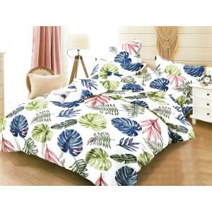 Žiarivé posteľné obliečky s motívom listov