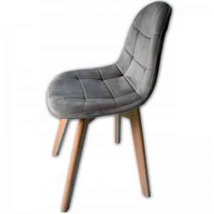 Jedálenská čalúnená stolička v škandinávskom štýle