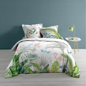 Obojstranné bavlnené posteľné obliečky 200x200 cm