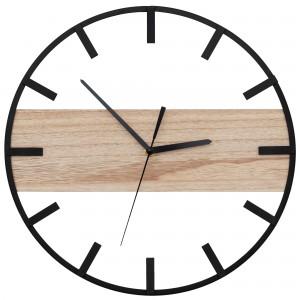 Originálne nástenné hodiny v škandinávskom štýle