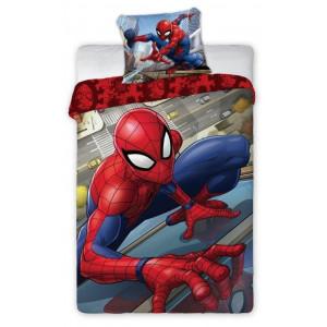 Detské posteľné obliečky s motíom Spider-man