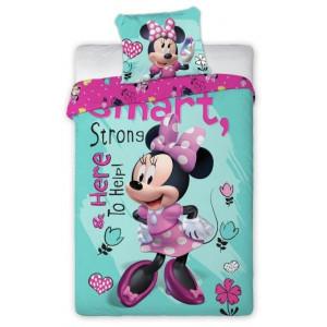 Krásne posteľné obliečky Smart Minnie