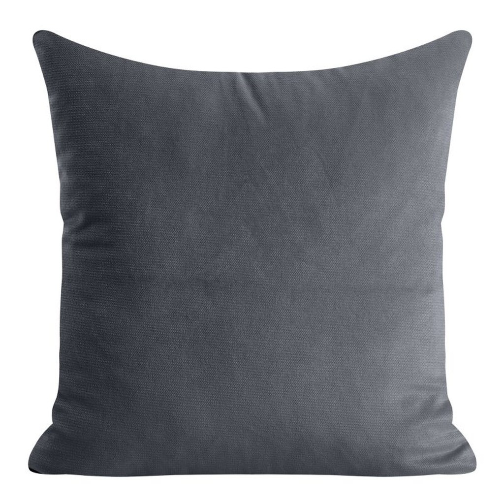 DomTextilu Dekoračna obliečka v tmavosivej farbe 40 x 40 cm 25241-149296