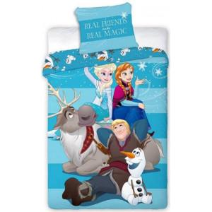 Krásne posteľné obliečky Ľadové kráľovstvo FROZEN