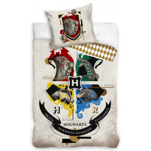 Originálne béžové posteľné obliečky Harry Potter