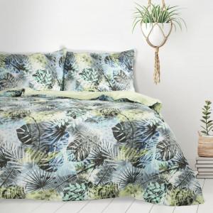 Farebné bavlnené obliečky s tropickým motívom