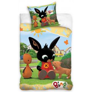 Pestrofarebné obliečky s motívom králika BING
