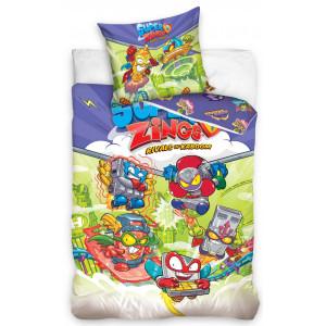 Detské bavlnené posteľné obliečky Super Zings