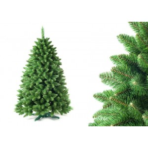 Hustý stromček na vianoce v zelenej farbe 180 cm