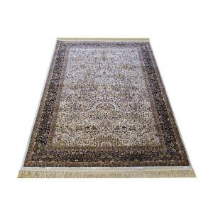 Vintage koberec s drobným vzorom béžový