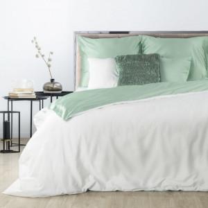 Obojstranné posteľné obliečky z bavlneného saténu