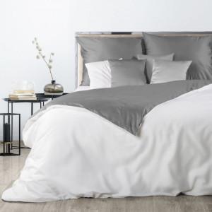 Kvalitné posteľné obliečky z bavlneného saténu so zipsom