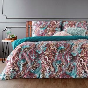 Farebná originálna posteľná bielizeň z bavlneného saténu
