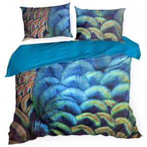 Žiarivé posteľné obliečky s originálnym vzorom