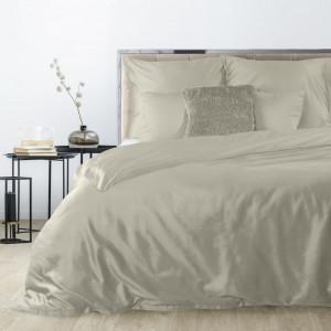 Obojstranné kvalitné posteľné obliečky v béžovej farbe