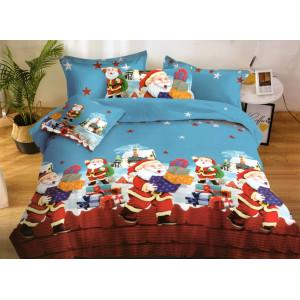 Kvalitné posteľné obliečky na vianoce z mikrovlákna