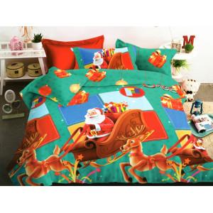 Rozprávkové vianočné obliečky na posteľ