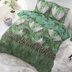Moderné posteľné obliečky s tropickým motívom 200 x 220 cm