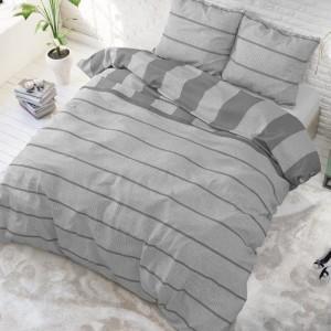 Vzorované posteľné obliečky so zapínaním na patentky 200 x 220 cm