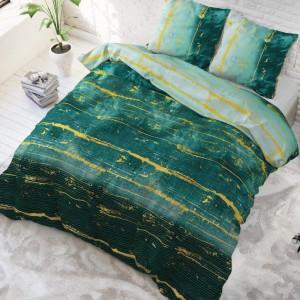 Zelené moderné posteľné obliečky do spálne 200 x 220 cm